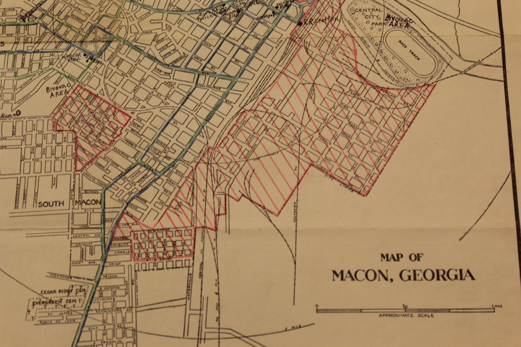Map Of Macon John Oliver Killens S Youngblood