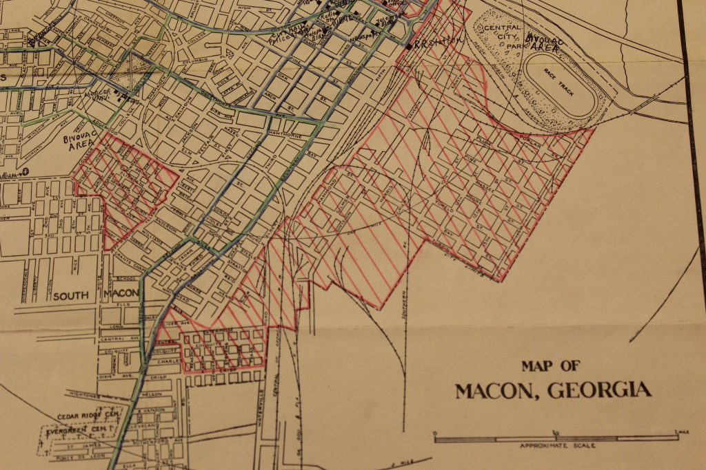 Map of Macon John Oliver Killenss Youngblood